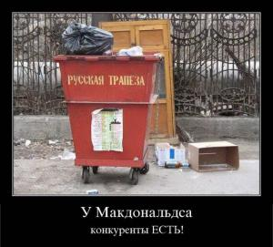 Конкуренты Макдональдса
