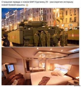 Курганец-25 внутри