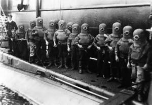 Бойцы подводники