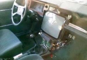 Советская мультимедия в автомобиле