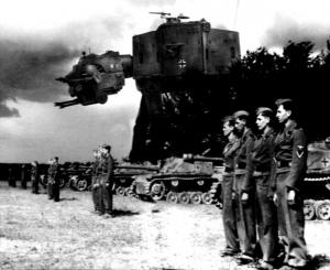 Секретный шагающий танк Сталина