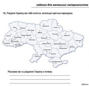 Как разделить Украину