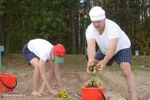 Белорусские киви и папайя