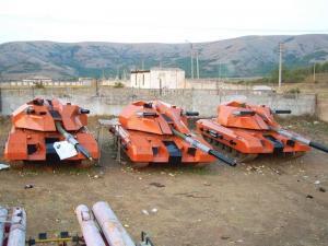 Секретное фото танка Оплот-2
