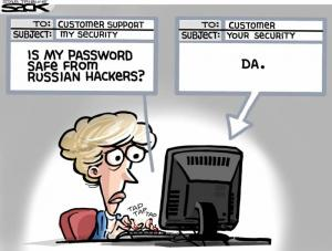 Защита от русских хакеров